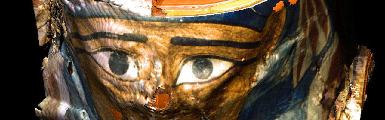 Die Virtuelle Mumie: Auswickeln einer Mumie per Mausklick (1997)