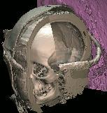 Hölzerner Sargboden der Virtuellen Mumie