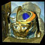 Virtuelle Mumie in einer ägyptischen Umgebung